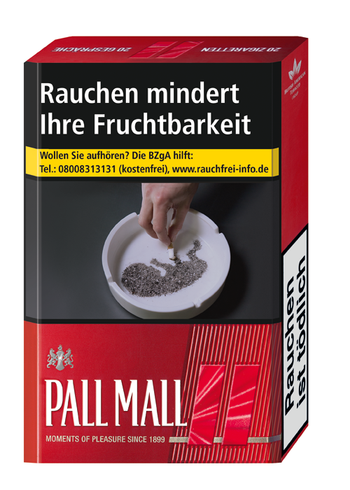 Pall Mall Red OP ohne Preis 2