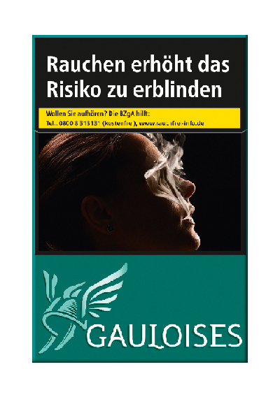 Gauloises Range Germany Green OP
